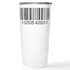 Barcode (large) Stainless Steel Travel Mug