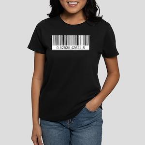 Barcode (large) Women's Dark T-Shirt