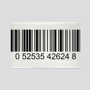 Barcode (large) Rectangle Magnet