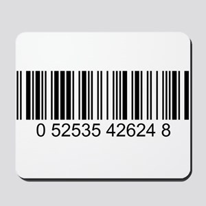Barcode (large) Mousepad
