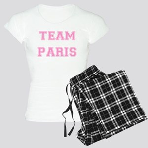 Team Paris Light Pink Women's Light Pajamas