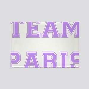 Team Paris Lavender Rectangle Magnet