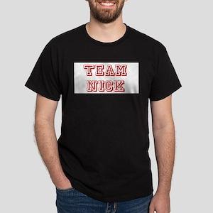 Team Nick Dk Red Dark T-Shirt