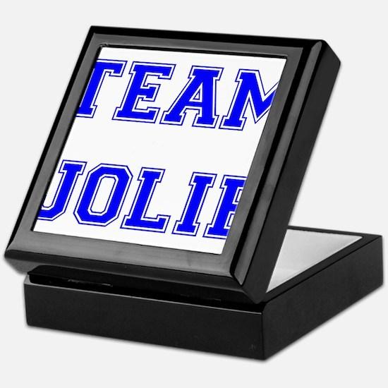 Team Jolie Blue Keepsake Box