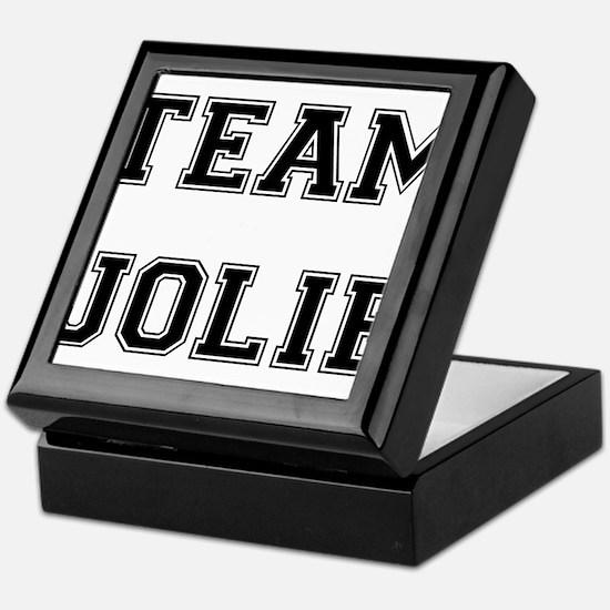 Team Jolie Black Keepsake Box