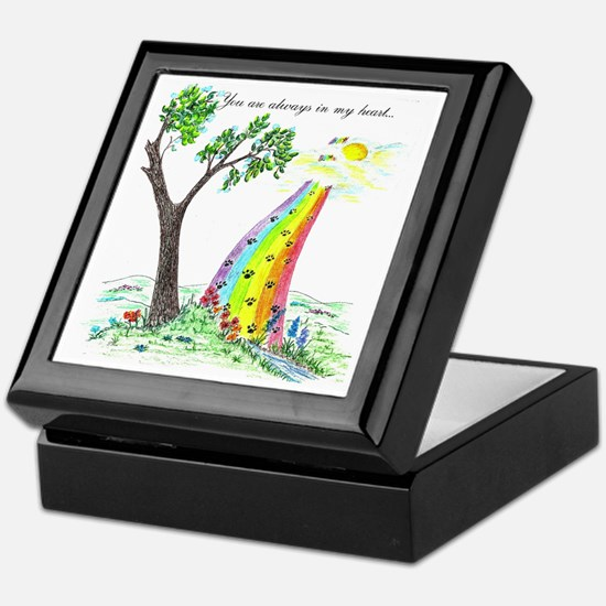 Funny Rainbow Keepsake Box