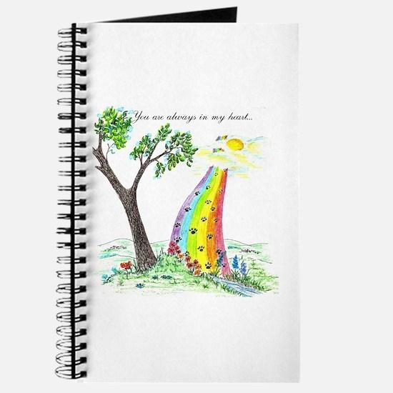 Funny Rainbow bridge Journal