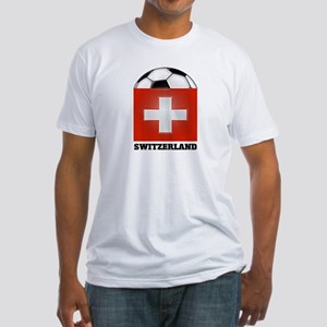 Switzerland Soccer Fitted T-Shirt