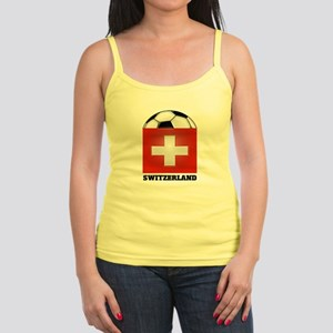 Switzerland Soccer Jr. Spaghetti Tank