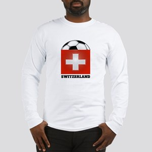 Switzerland Soccer Long Sleeve T-Shirt