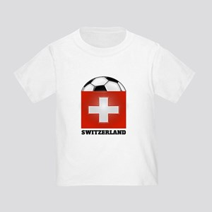 Switzerland Soccer Toddler T-Shirt