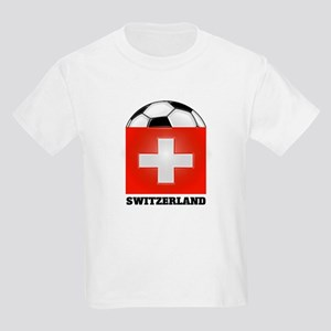 Switzerland Soccer Kids T-Shirt