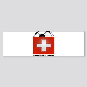 Switzerland Soccer Bumper Sticker