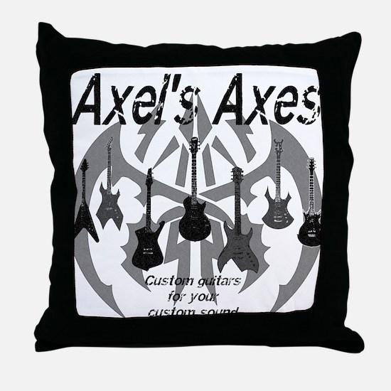 Axel's Axes Throw Pillow