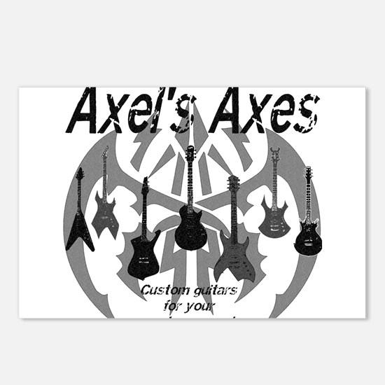 Axel's Axes Postcards (Package of 8)