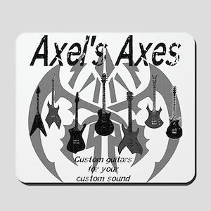 Axel's Axes Mousepad