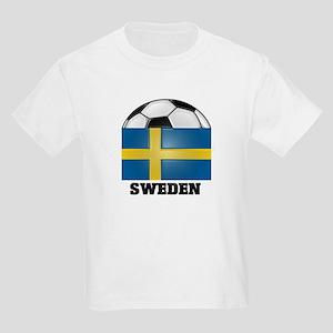 Sweden Soccer Kids T-Shirt