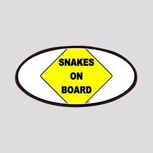 Snakes on Board Patches