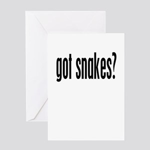 got snakes? Greeting Card