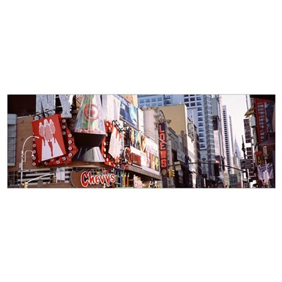 New York, New York City, Times Square Poster