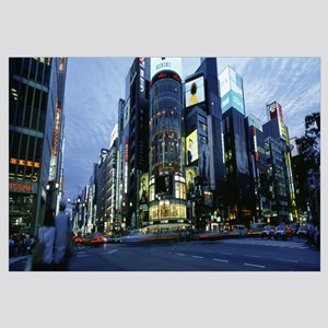 Japan, Tokyo, Ginza, Rush hour in the city