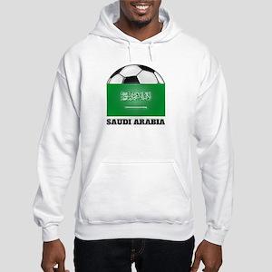 Saudi Arabia Soccer Hooded Sweatshirt