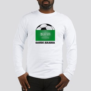 Saudi Arabia Soccer Long Sleeve T-Shirt