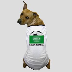 Saudi Arabia Soccer Dog T-Shirt