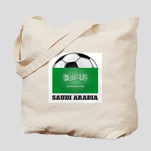 Saudi Arabia Soccer Tote Bag