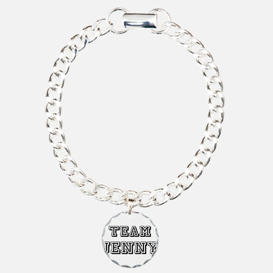 Team Jenny Black Bracelet