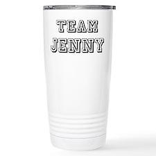 Team Jenny Black Stainless Steel Travel Mug