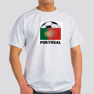 Portugal Soccer Ash Grey T-Shirt