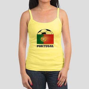 Portugal Soccer Jr. Spaghetti Tank