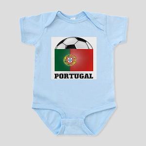 Portugal Soccer Infant Creeper