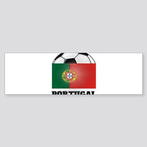 Portugal Soccer Bumper Sticker