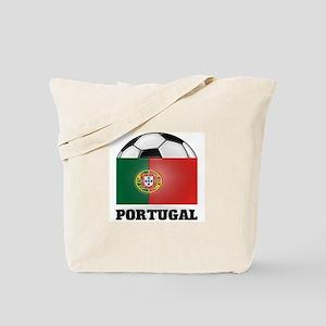 Portugal Soccer Tote Bag