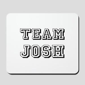 Team Josh Black Mousepad