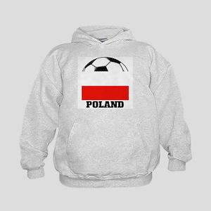 Poland Soccer Kids Hoodie