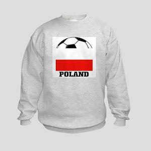 Poland Soccer Kids Sweatshirt