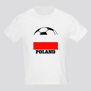 Poland Soccer Kids T-Shirt