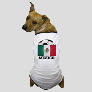 Mexico Soccer Dog T-Shirt