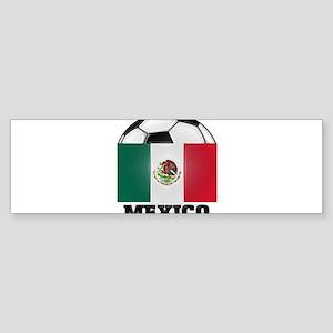 Mexico Soccer Bumper Sticker