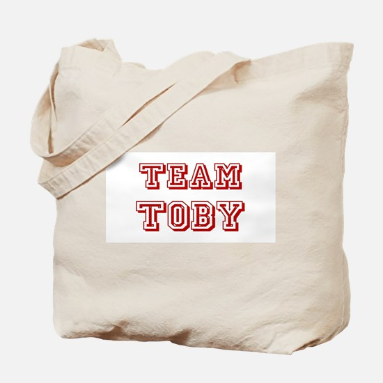 Team Toby Red Tote Bag