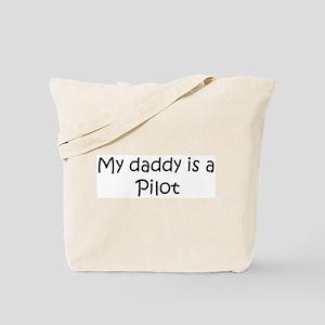 Daddy: Pilot Tote Bag