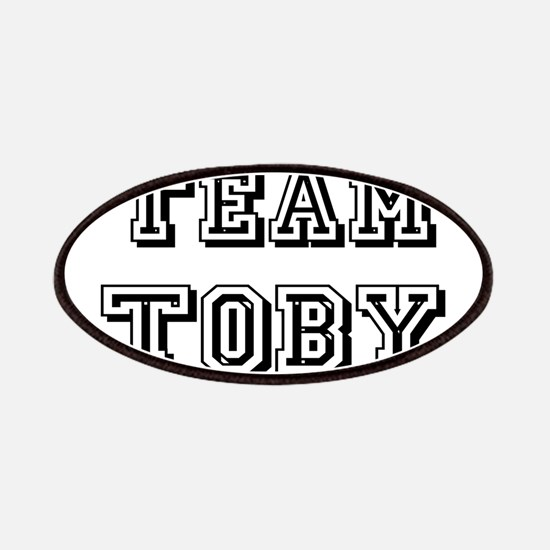 Team Toby Black Patches