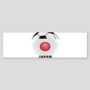 Japan Soccer Bumper Sticker