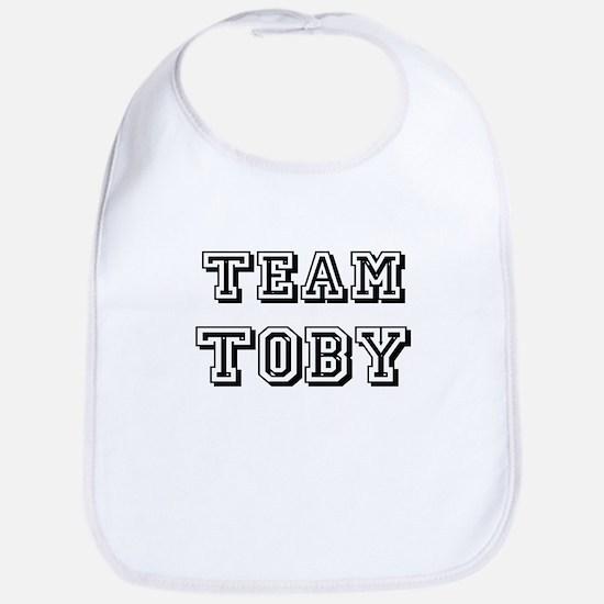 Team Toby Black Bib