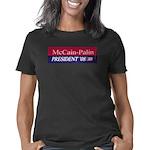 2-McCain-Palin_Bumperstick Women's Classic T-Shirt