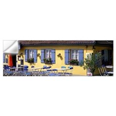 Cafeteria Rothenburg Germany Wall Decal
