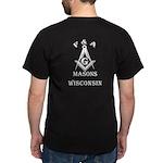 Wisconsin Free Masons Dark T-Shirt